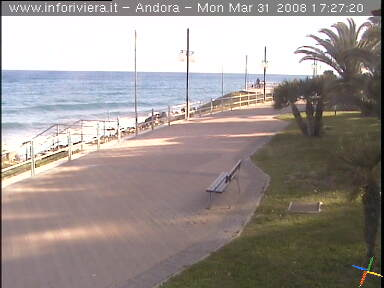 Andora Passeggiata webcam photo 3