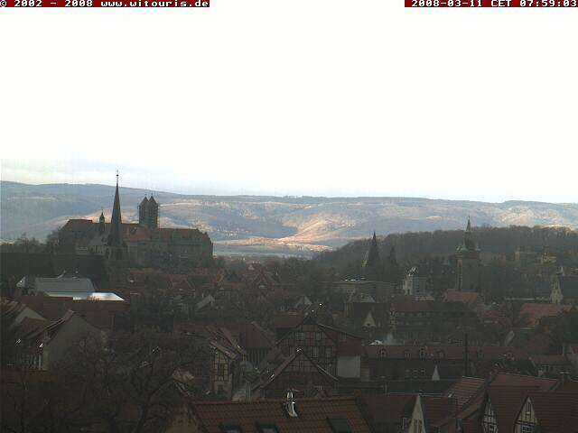 Quedlinburg webcam photo 2