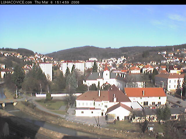 Luhacovice webcam photo 1