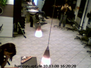 Hair concept webcam photo 2