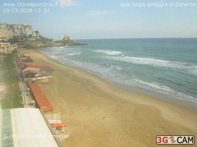 Sperlonga webcam photo 1