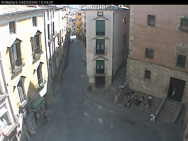 Anteplaza webcam photo 1