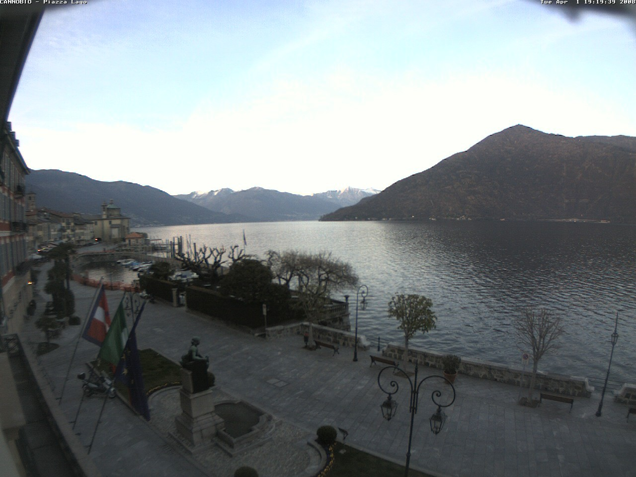 Cannobio webcam photo 1