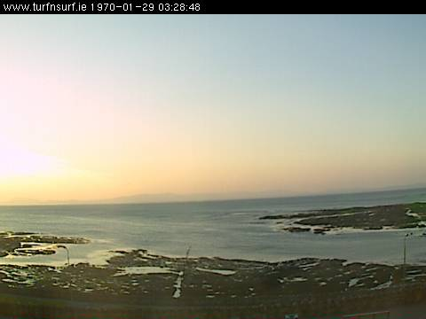 Live view of the peak at Bundoran photo 2