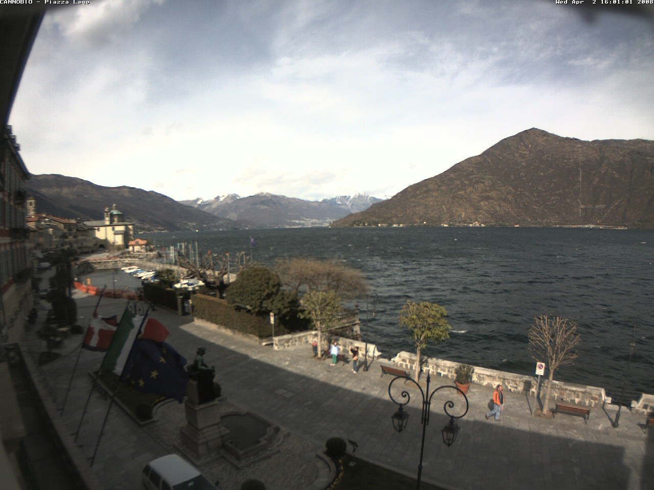 Cannobio webcam photo 3