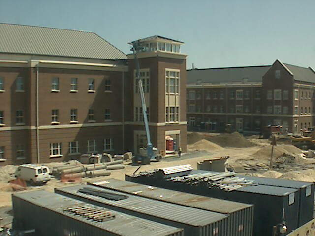 Construction project at the University of Maryland photo 1