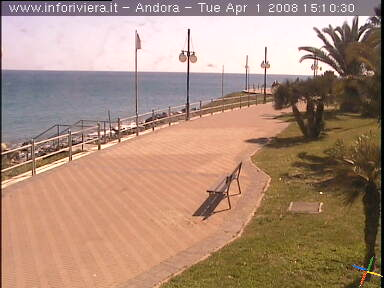 Andora Passeggiata webcam photo 4