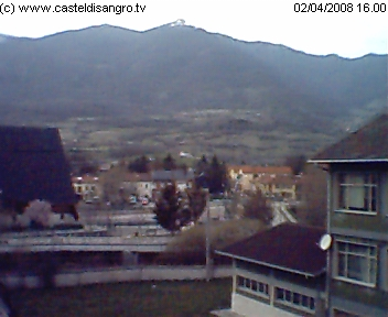 Castel di Sangro webcam photo 2