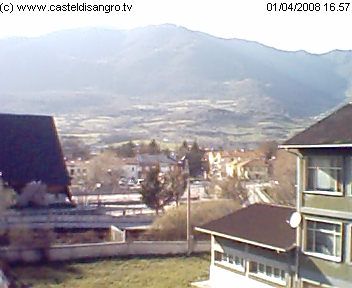 Castel di Sangro webcam photo 1