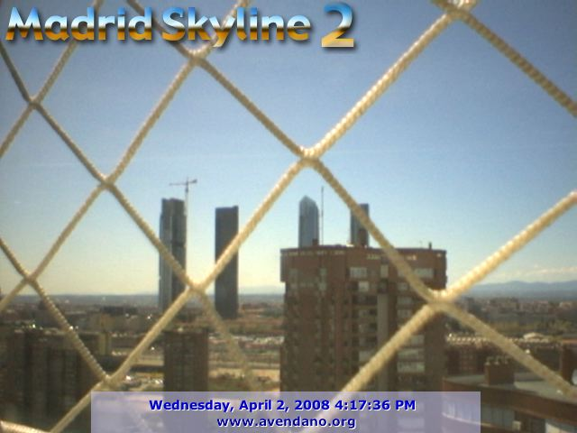 Madrid Skyline webcam photo 1