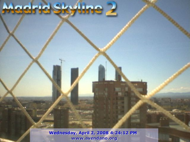 Madrid Skyline webcam photo 2