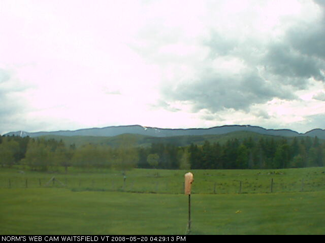 Norm's webcam - Waitsfield VT photo 2
