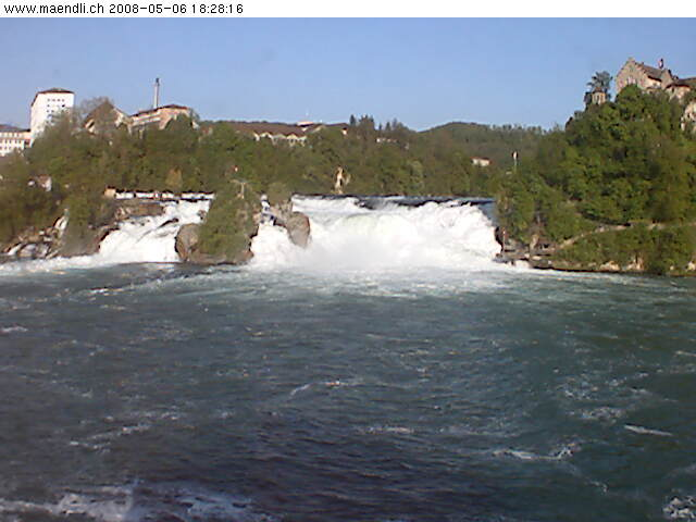 Live Webcam Rhine Falls photo 1