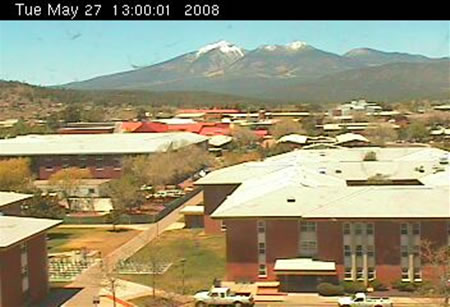 Northern Arizona University's Reilly Hall Web Cam photo 4