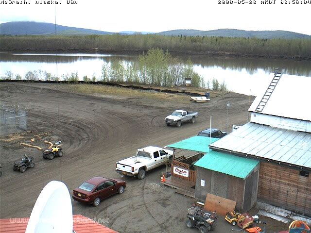 McGrath, Alaska - Kuskokwim River Webcam photo 3