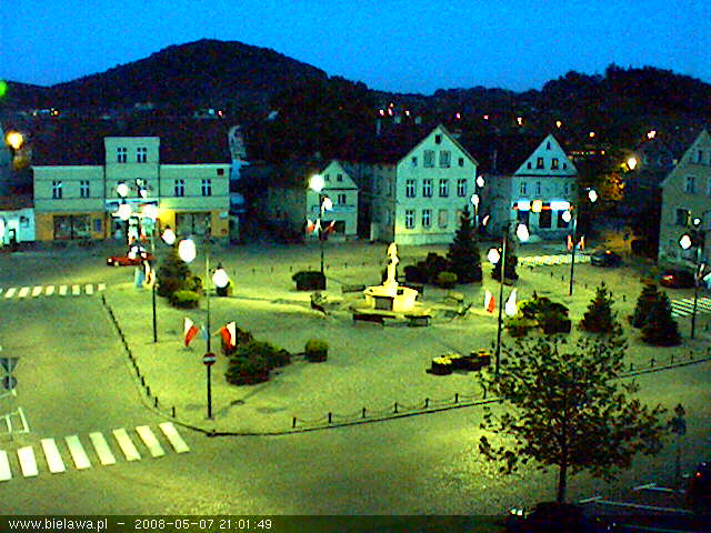 Bielawa square webcam photo 2
