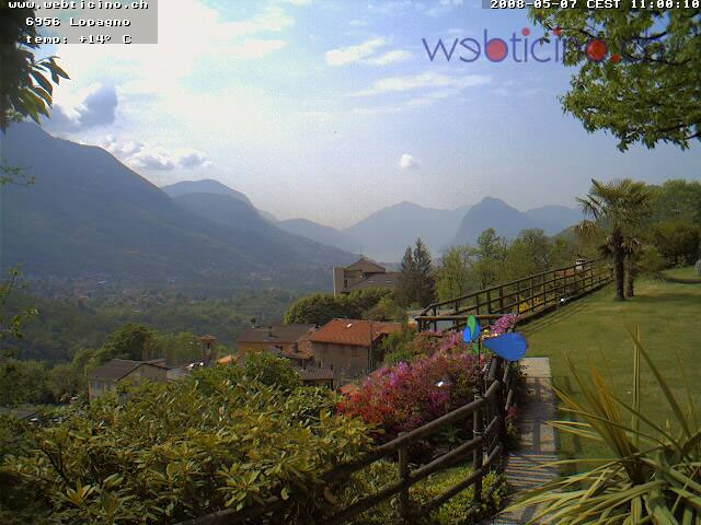 Webcam ticino Lugano photo 2