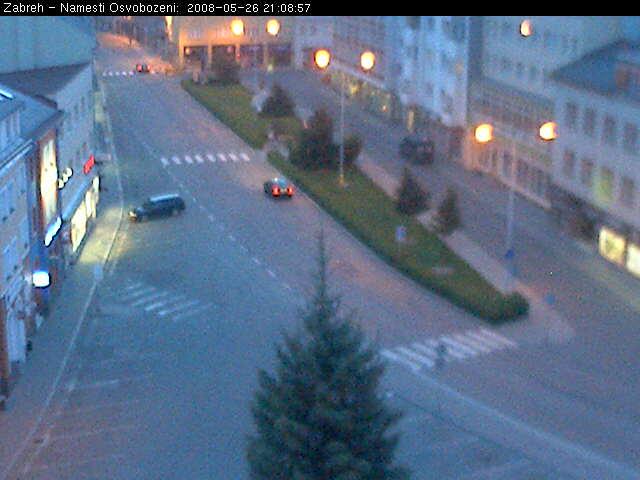 Zabreh - Osvobozeni square photo 6