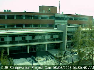 Compton Union Building Rennovation Project webcam photo 1