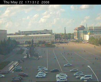 Stavropol webcam - Lenin Square photo 1