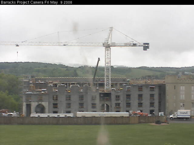 Virginia Military Institute - Barracks Project Webcam photo 2