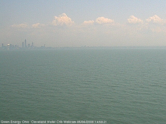Cleveland Water Crib Webcam photo 2