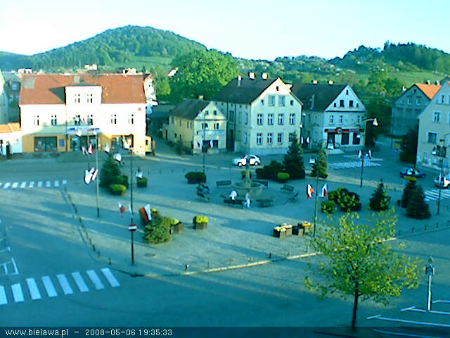 Bielawa square webcam photo 1