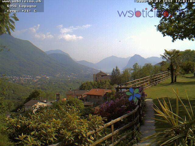Webcam ticino Lugano photo 1