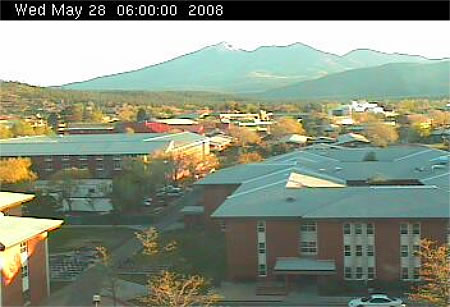 Northern Arizona University's Reilly Hall Web Cam photo 1
