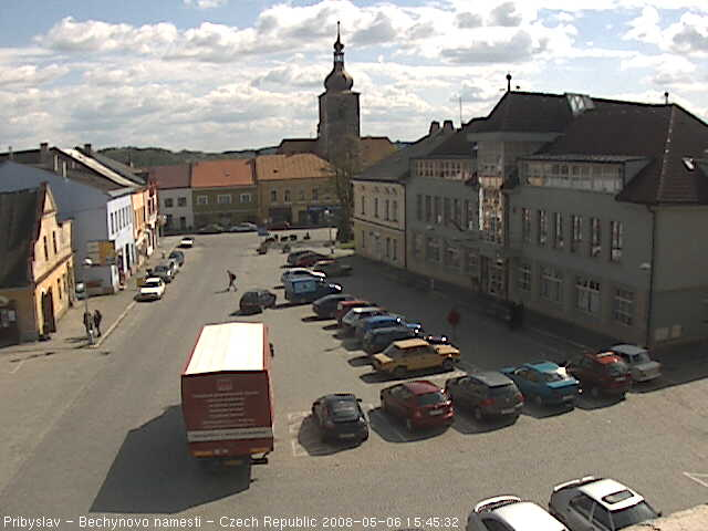 Pribyslav webcam photo 1