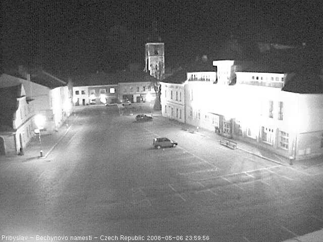 Pribyslav webcam photo 3
