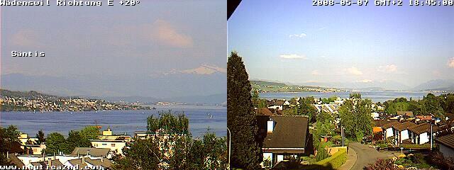 Webcam Lake Zurich photo 1