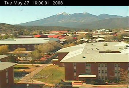 Northern Arizona University's Reilly Hall Web Cam photo 5