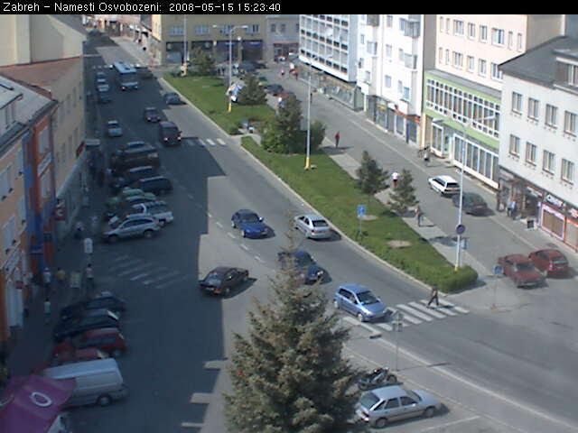 Zabreh - Osvobozeni square photo 1