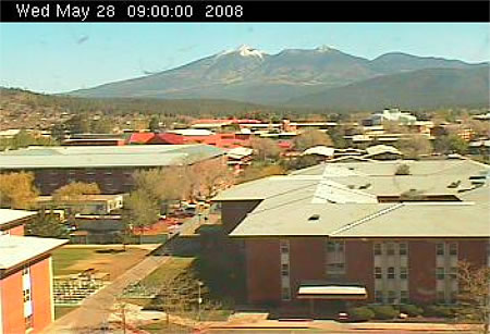 Northern Arizona University's Reilly Hall Web Cam photo 2