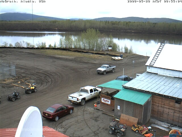 McGrath, Alaska - Kuskokwim River Webcam photo 2