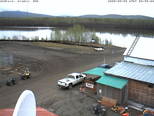 McGrath, Alaska - Kuskokwim River Webcam photo 1