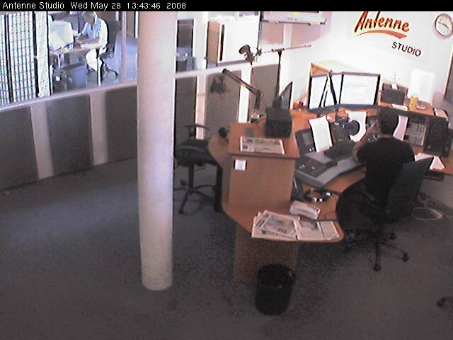 Antenne studio webcam photo 2