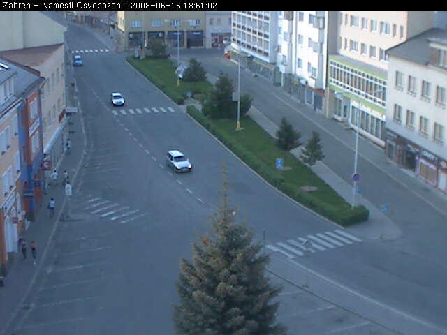 Zabreh - Osvobozeni square photo 2