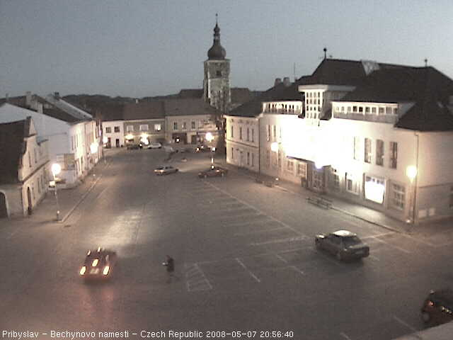 Pribyslav webcam photo 2