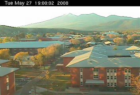Northern Arizona University's Reilly Hall Web Cam photo 6