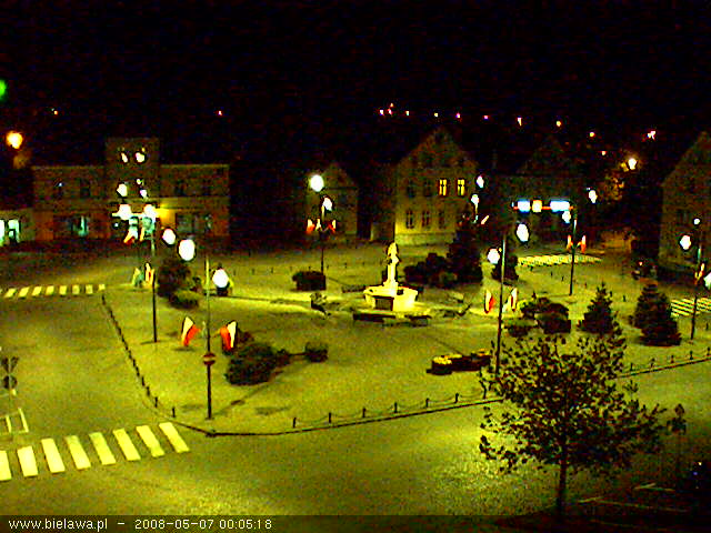 Bielawa square webcam photo 4