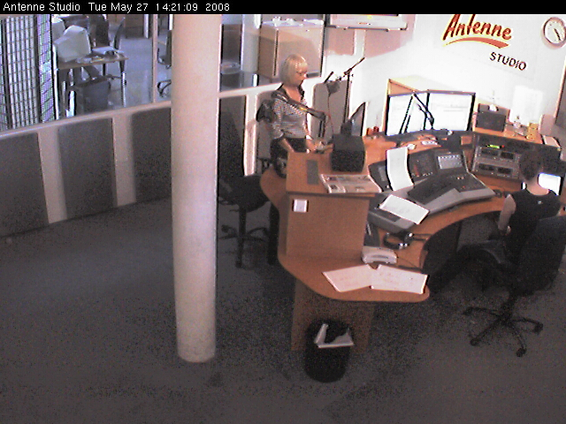 Antenne studio webcam photo 1