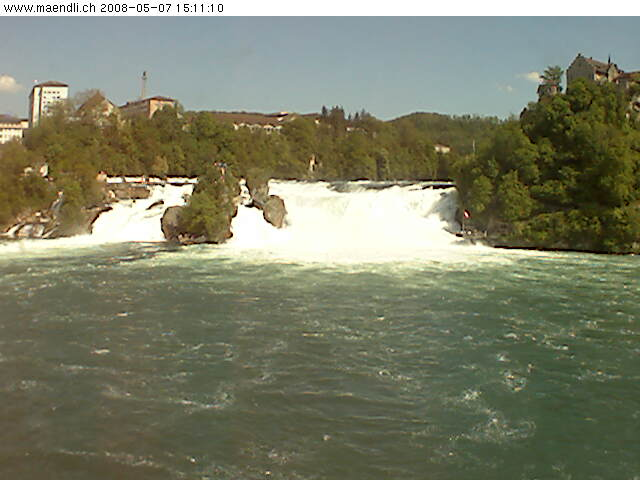 Live Webcam Rhine Falls photo 3