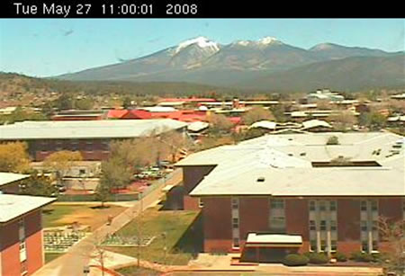 Northern Arizona University's Reilly Hall Web Cam photo 3