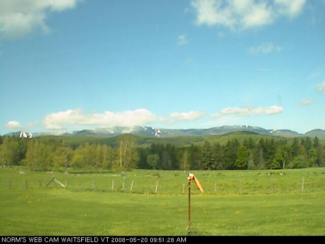 Norm's webcam - Waitsfield VT photo 1