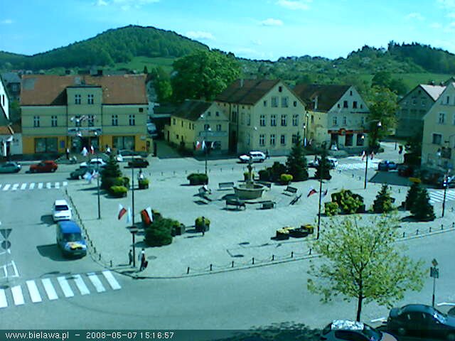 Bielawa square webcam photo 3