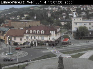 Luhacovice square photo 6