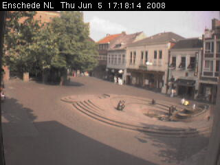 Webcam on the City Hall (Egg Ko) of Enschede photo 1