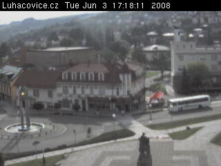 Luhacovice square photo 3